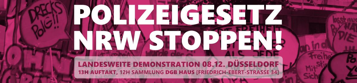 Polizeigesetz NRW stoppen!